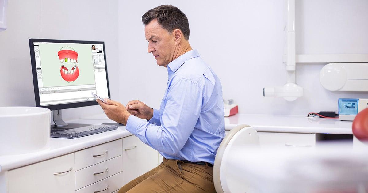 Usos del SMS en una clínica dental